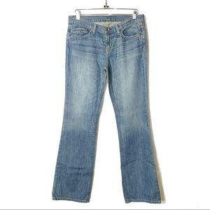 EXPRESS X2 Denim Laboratory Flare Leg Jeans 8L